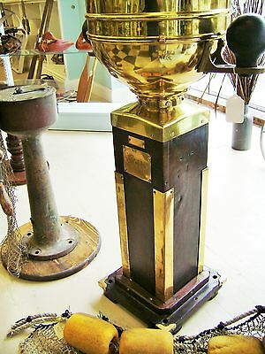 Maritime Brass Compass Binnacle Nautical Decor Ship Kelvin Hughes UK