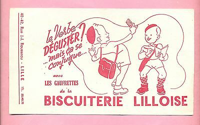 Buvard  Biscuiterie Lilloise  -  Lille  -