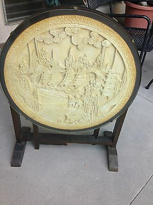 Absolutely Beautiful Asian Carved Folding Table