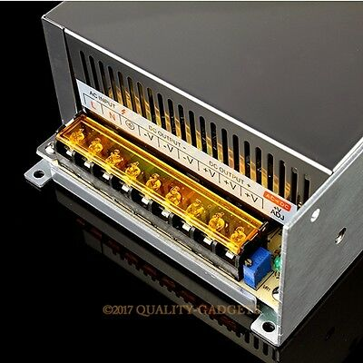 Wide Range 100-240V AC-DC 600W 48V12.5A Power Supply PWM Control For CNC Router