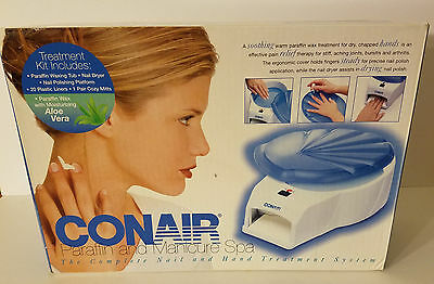 Conair PB5 Paraffin and Manicure Spa with Nail Dryer Hand and Nail Treatment NIB