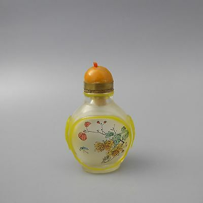 Asiatika Snuff Bottle wohl China 20. Jahrhundert H. 6,3cm   (D)