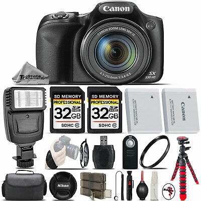Canon PowerShot SX530 HS Digital Camera 50x Optical Zoom - Ultimate Saving Kit