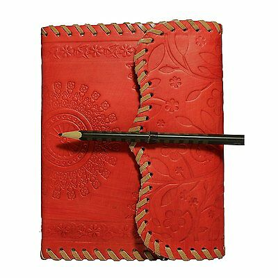 Handmade Leather Cover Journal Diary Notebook Personal Travel Journal Organizer