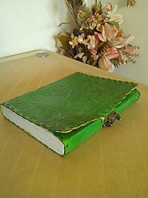 QualityArt Handmade Distressed Leather Journal Diary Notebook Celtic Tree Of Lif