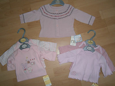 Mothercare Tops And Cardigan