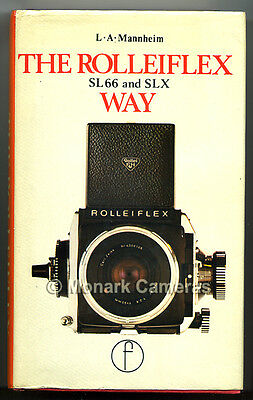 The Rolleiflex SL66 & SLX Way, RARE Focal Press Book. More Rollei Manuals Listed