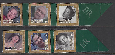 BRITISH INDIAN OCEAN TERRITORY :2012 Diamond Jubilee  set  SG473-8 MNH