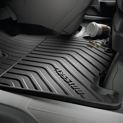 Genuine OEM 2011-2017 Honda Odyssey All Season Floor Mat Set