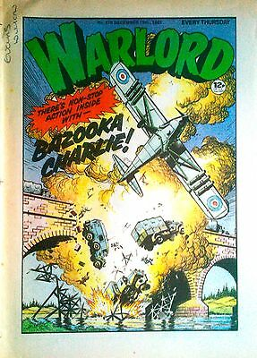 WARLORD No. 378 -  Dec 19, 1981 - CODE-NAME WARLORD - BRITISH Comics