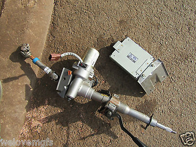 Mg Mgf Pas Power Steering Column & Ecu From A 6000 Mile Car