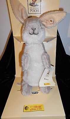 Steiff Disney Classic Pooh Collection HASE Rabbit Limited Edition No.4564 Vitrin