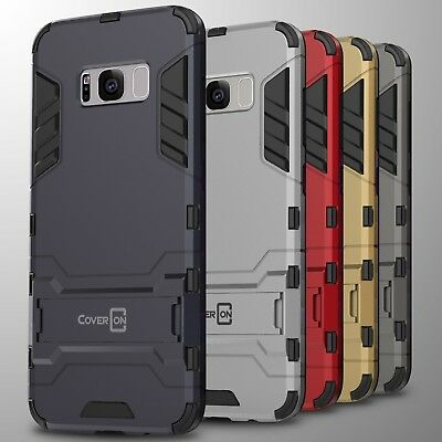 For Samsung Galaxy S8 Case Hard Kickstand Protective Slim Phone Cover