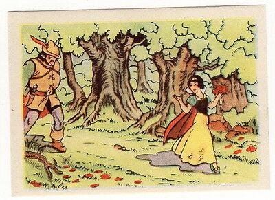 Vintage 1940 Snow White and the Seven Dwarfs Card #18