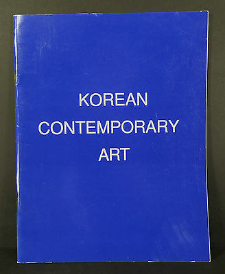 1989 Exhibition Catalog KOREAN CONTEMPORARY ART Ucchin Chang Whanki Kim, more!