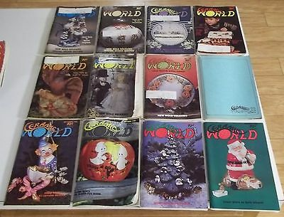 FULL YEAR of 1980 CERAMIC WORLD Magazines (Combined Shipping Deal)