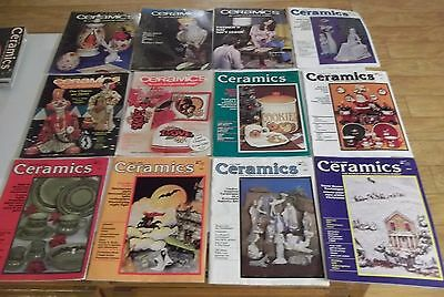 FULL YEAR 1980 CERAMICS The World's Most Fascinating Hobby MAGAZINES Ship Deal