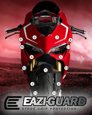 Eazi-Guard Stone Chip Paint Protection Film for Ducati Panigale 899 1199
