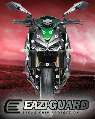 Eazi-Guard Stone Chip Paint Protection Film for Kawasaki Z1000