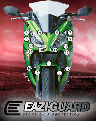 Eazi-Guard Stone Chip Paint Protection Film for Kawasaki Ninja 650