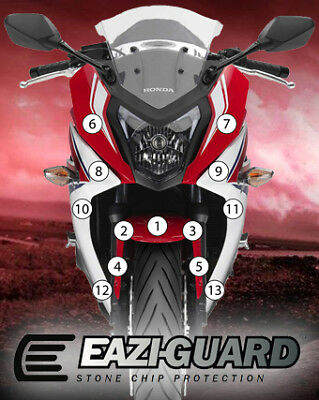 Eazi-Guard Stone Chip Paint Protection Film for Honda CBR650F