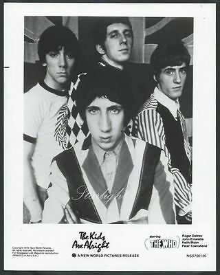 ☆ The Who The Kids Are Alright 1979 ORIGINAL Promo Photo Keith Moon