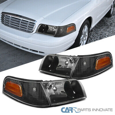 Right Corner Light Fits 1998-2010 Ford Crown Victoria Turn Signal Lamp