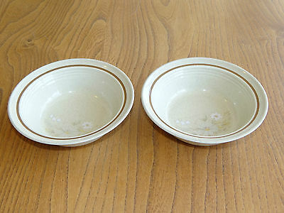 Royal Doulton Small Soup, Cereal or Dessert Bowl - FLORINDA - LS1042 - Set of 2