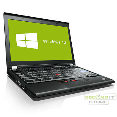 Lenovo ThinkPad X220 Notebook Intel Core i5 2x 2,5 GHz 8 GB RAM 320 GB HDD Win10