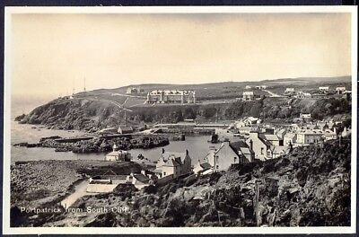 Panoramic View of PORTPATRICK from South Cliff.  c1930s RP Postcard. Free Post