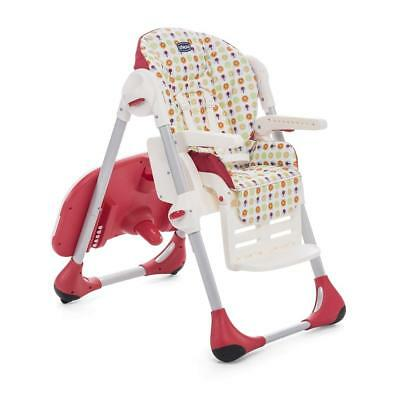 Chicco Polly Easy Highchair (Sunrise) with Cushion & Tray ON SALE! WAS £90