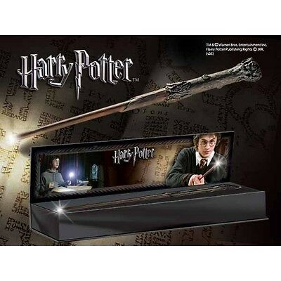 Harry Potters Illuminating Wand (Harry Potter) The Noble Collection Replica B...