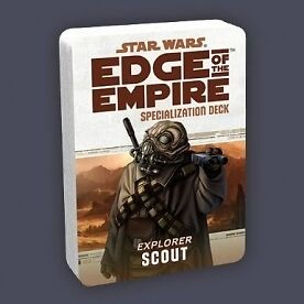 Star Wars Edge of the Empire Specialization Deck Scout Brand New