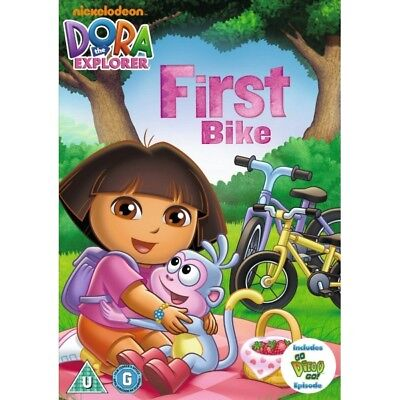 dora the explorer - doras first bike DVD