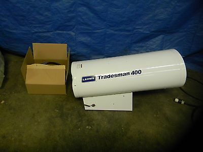 LB White Propane Forced Air Heater 250000 to 400000 BTU Rating #Tradesman400