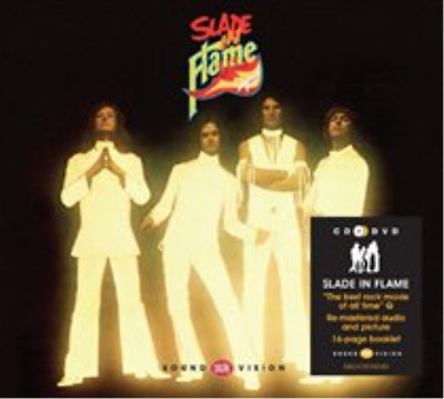 Slade-Slade in Flame  CD with DVD NEW