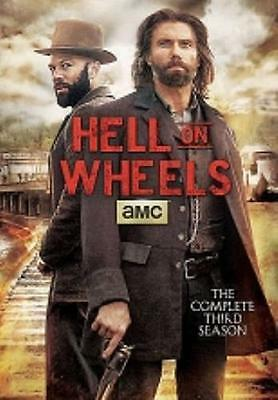Hell on Wheels: Complete Third Season (DVD, 2014, 3-Disc Set) NEW^