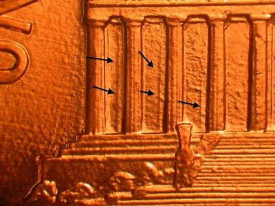 1989  Doubled Die Reverse Ch/Gem BU Red Lincoln Cent