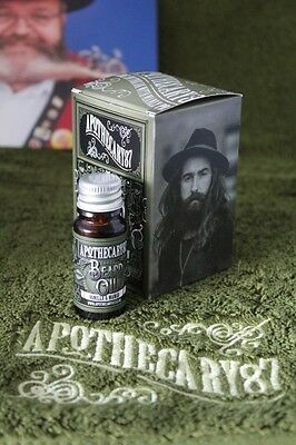 (119,90€/100ml) Apothecary87 Vanilla & Mango Beard Oil Bartöl 10 ml