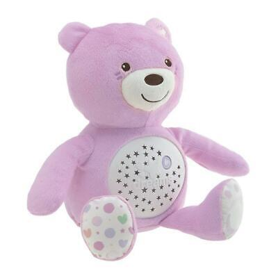 Chicco Baby Bear Night Light (Pink) With Light & Music ON SALE! WAS £25