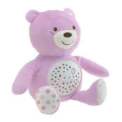 Chicco Baby Bear Night Light (Pink) - With Light & Music