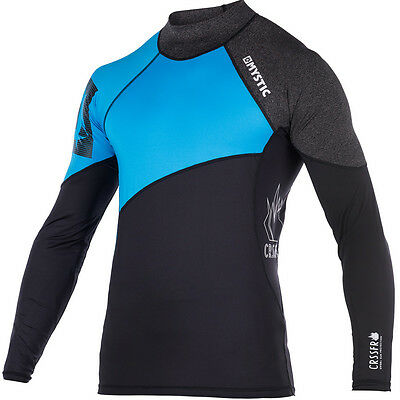 2017 Mystic Crossfire Long Sleeve Rash Vest