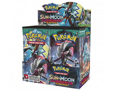 Pokemon Sun and Moon Guardians Rising Booster Box New/Sealed