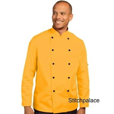 Denny's Technicolour Chef Jacket Sunflower & 10 other Colours Available XS-2XL
