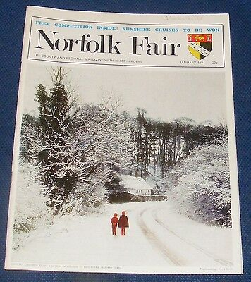 Norfolk Fair Magazine January 1974 - Norwich Public Libraries 1608-1974