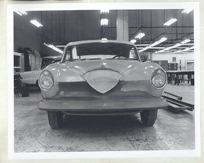 1954 1955 Kaiser Manhattan Prototype Concept ORIGINAL Factory Photograph ww8038