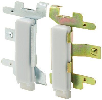 Prime-Line Products N 6553 Closet Door Guide, Bottom Mount, 1 Left 1 Right,