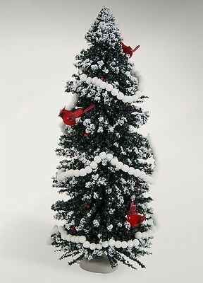 """Byers Choice Carolers 2017 16"""" Tree w/Birds #660P NEW FREE SHIPPING 48 STATES"""