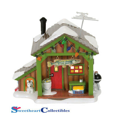 Dept 56 Snow Village 4056685 Home Away From Home Fish Shack 2017