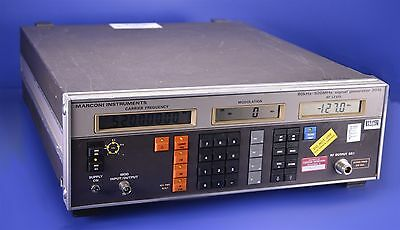 Marconi Instruments 80KHz-520MHz Signal Generator P/N: 2018
